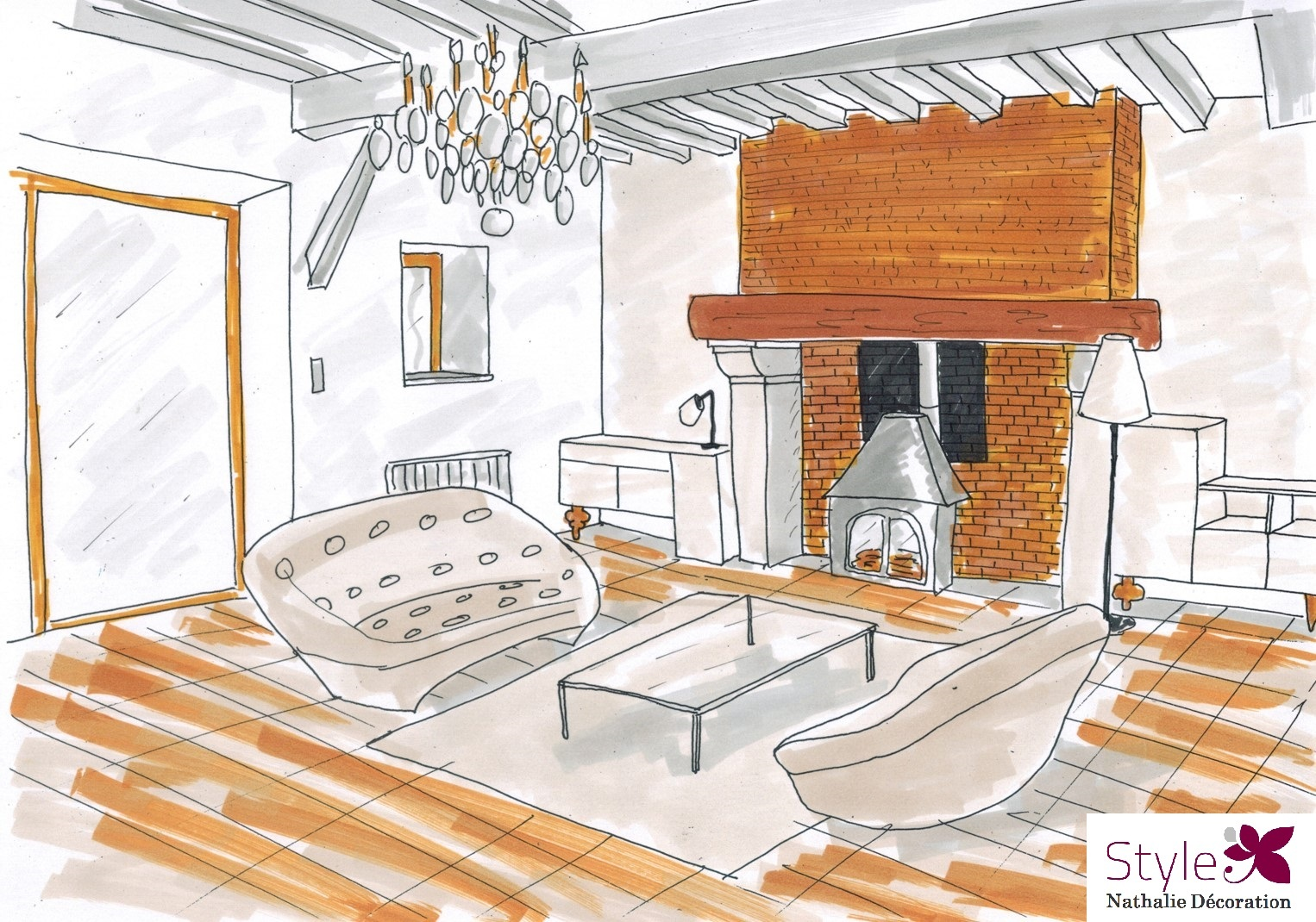 CROQUIS-SALON-COSY-CHIC